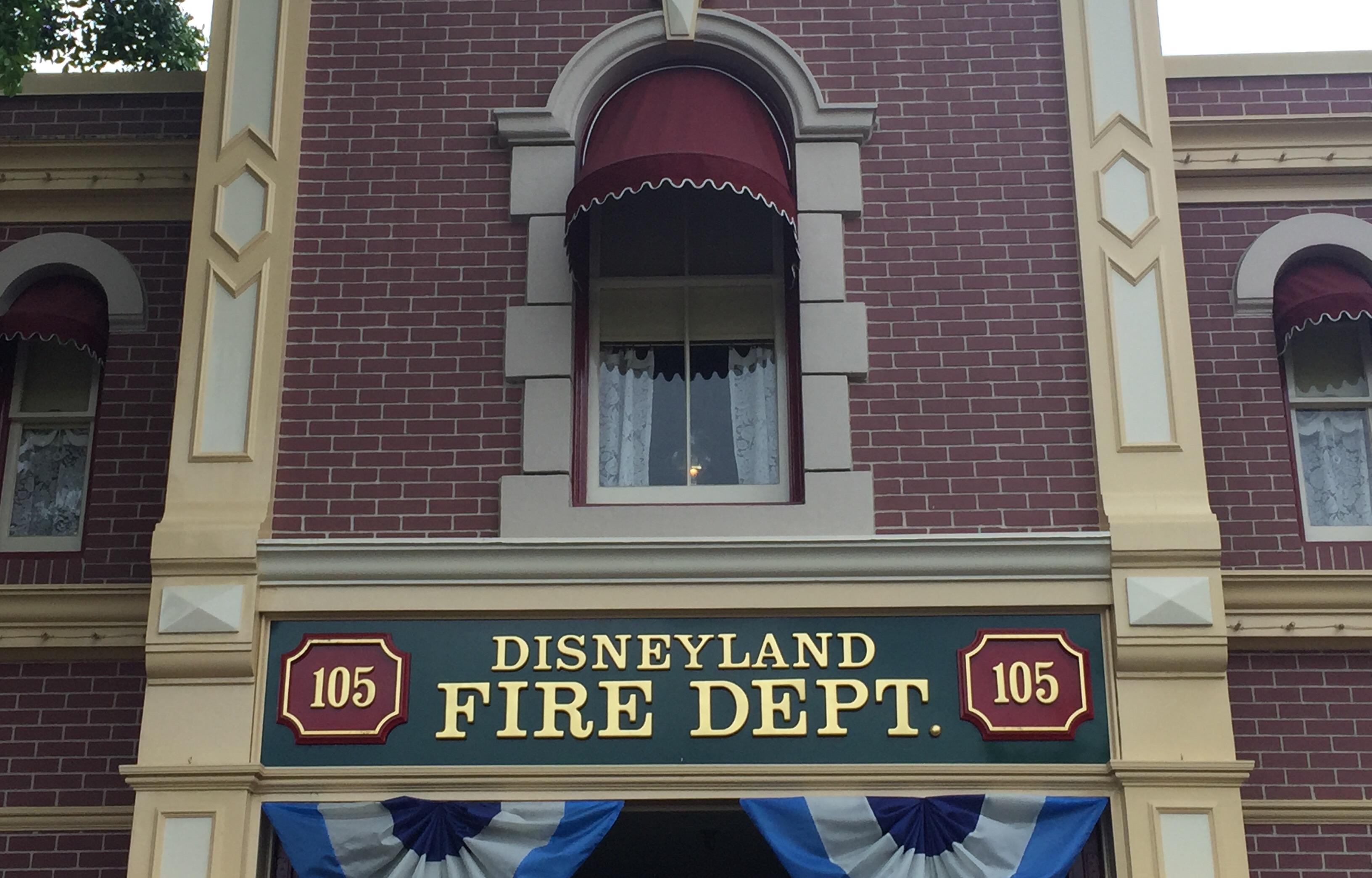 Disneyland Firestation