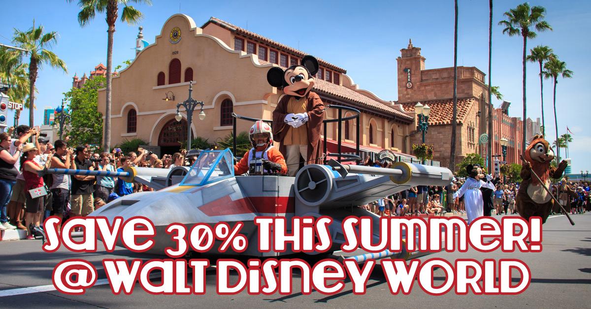Disney Summer Discount