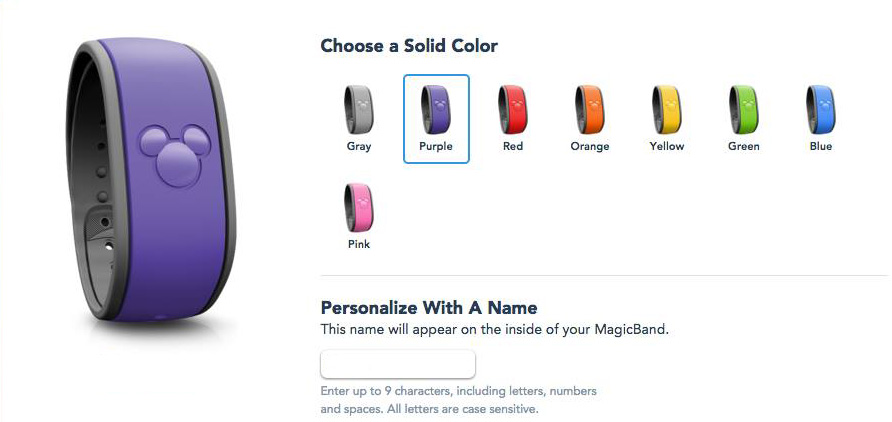 purple magicbands