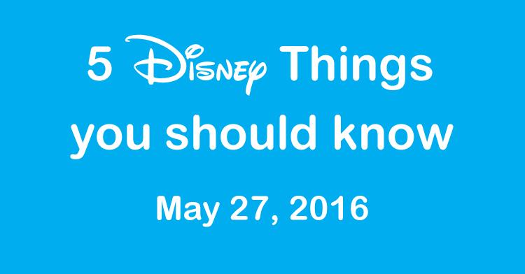 5 Disney Things