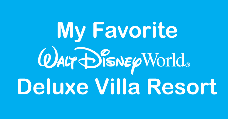 disney world deluxe villa
