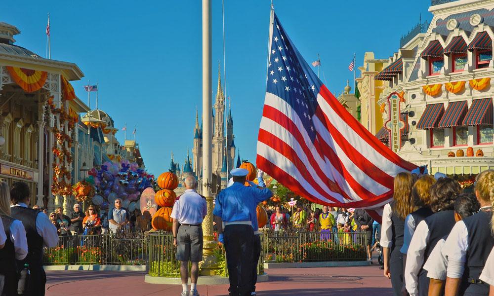 flag retreat ceremony
