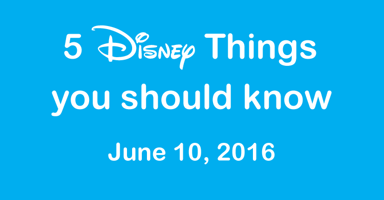 5 disney things
