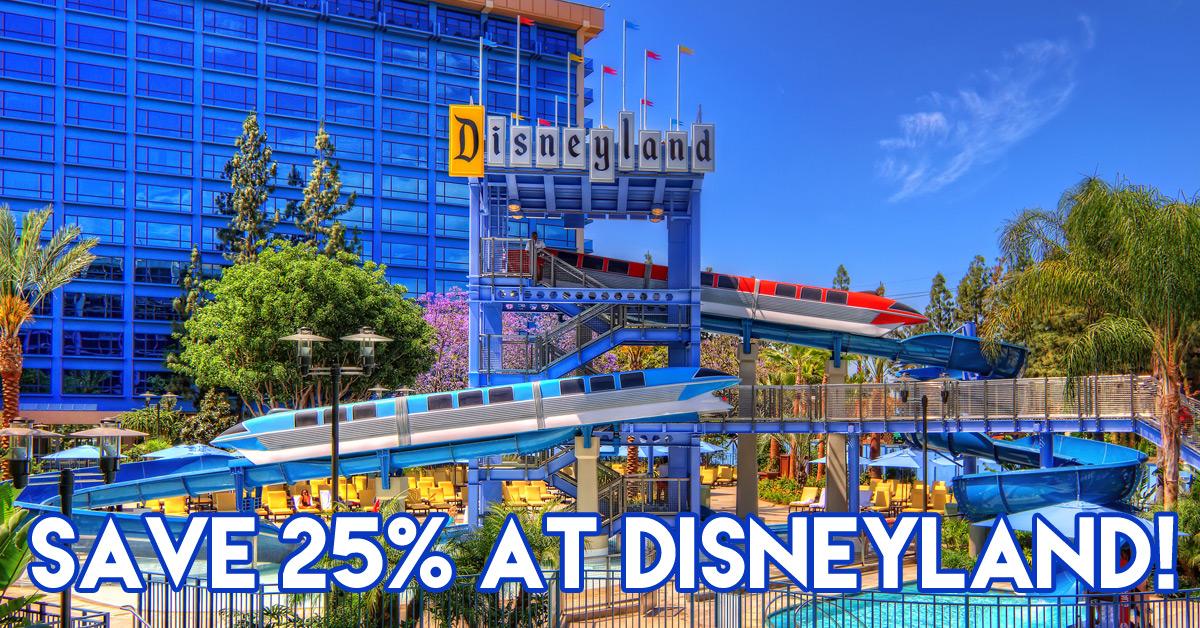 2016 disneyland discount