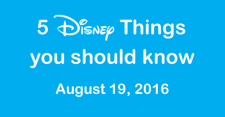 disney things you should know