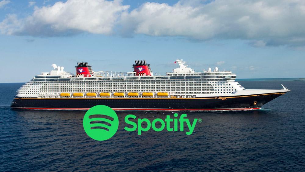 disney cruise spotify