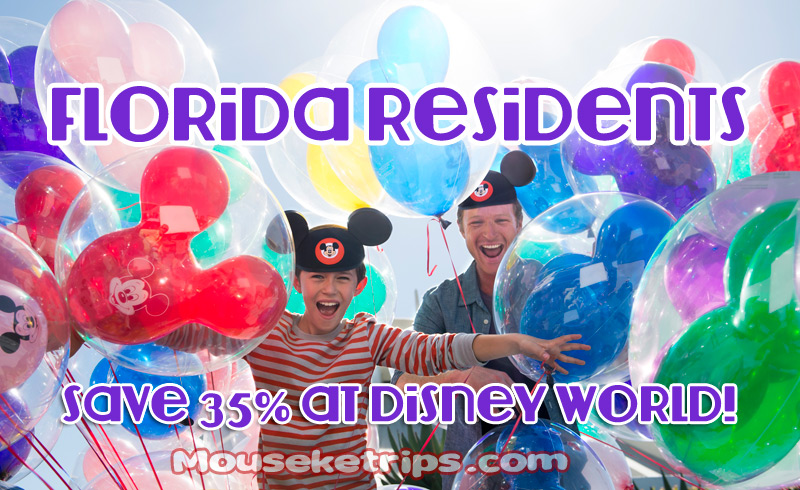 florida resident discount