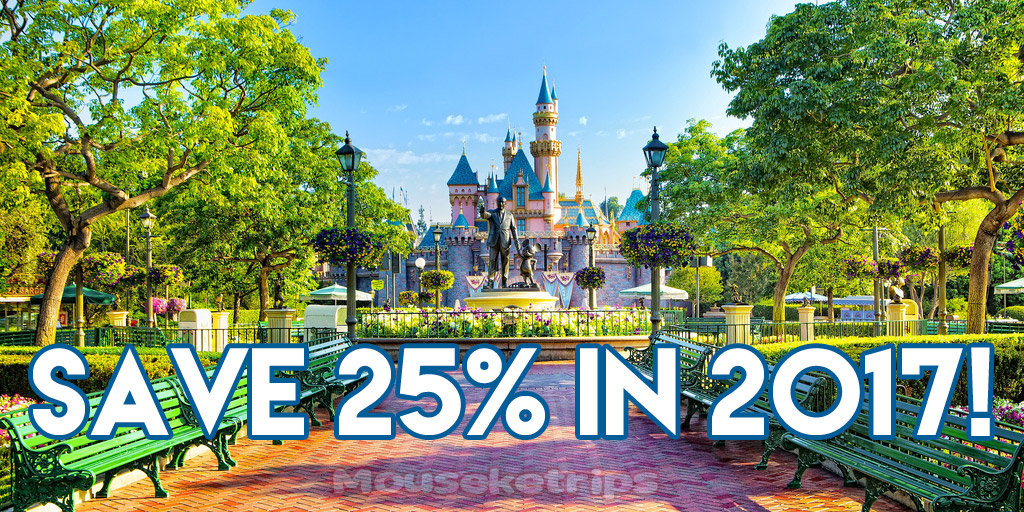 2017 disneyland winter discount