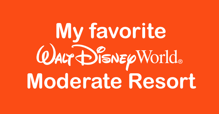 my favorite moderate resort